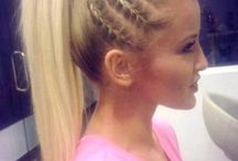 Cheer hairstyles / by Michelle Idler-Mauch