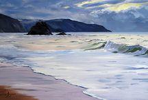 Widemouth Bay Art