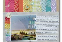 Scrapbook Layouts / by Donia Marie
