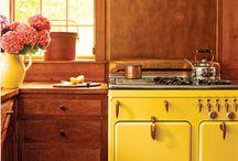 Mi casa ideal / My ideal home. No sé cuántas cocinas voy a tener que ponerle a mi casa ... Es todo tan mono. So cutee! <3 / by Reshi M. G.