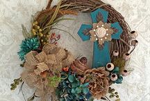 Wreath Ideas / by Paulette Wise