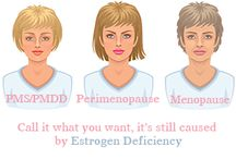 Estrogen Deficiency / Estrogen deficiency and estrogen deficiency diseases.