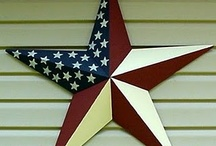 Americana / I love Americana items - things with red, white and blue. Seems to invoke a simpler time for me. / by Jill Celeste