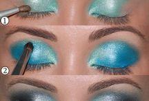 Cool eye make up