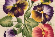 수채화 - 꽃