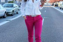 Pantalón rosa