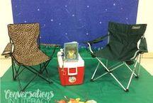 Camping reading week