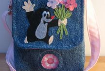 Gyerek táskák - Bags for kids (my works) ( #handmade ) / Egyedi applikálással készült kis táskák, főleg oldaltáskák gyerekeknek.