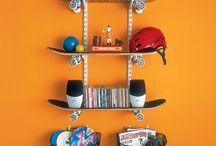 Skateboard room diy