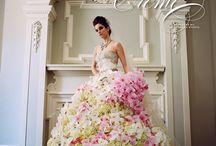 Real floral dresses