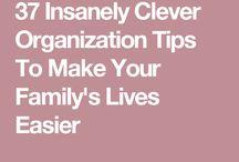 Oganization Tips