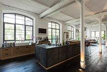 Berlin Loft Küche