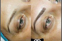 Kalıcı makyaj mikropigmentasyon eyebrow makyaj