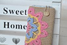 crochet phone case szydełkowe etui