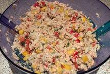 Thunfisch Salat reis