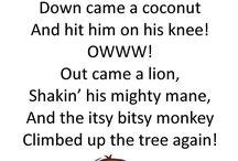 Poems and nursery rhymes