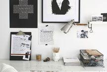 Home Offices / Schöne Arbeitsplätze zuhause!