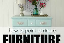 Painting furniture / Chalk paint, how to paint furniture, tips and techniques