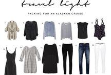travel light / pack less travel more