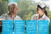 Home Healthcare Services   Elder Care Services  in Chennai / We provide essential services and need-based services which include both medical as well as non-medical services like companion care services, geriatric food , social engagement activities etc.