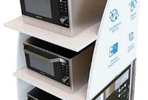 Adglow Free Standing POS Displays / Adglow FSDU - Free Standing Point of Sale displays