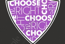 CTR / Choose the Right - always / by MormonLink.com