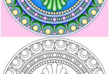 Coloring / Coloring pages, coloring books, inspiration, ideas, tips, and techniques