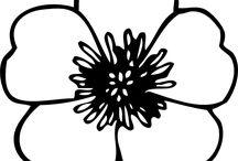 Fleurs/Feuilles