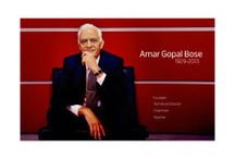 Amar Bose … who gave you Music Systems to Brag about… Passes Away