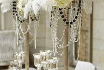 20's style wedding ideas