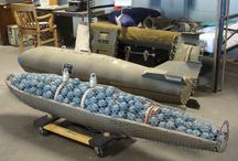 inside a cluster bomb