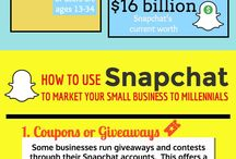 SNAPCHAT MARKETING / #snapchat marketing tips, tools and statistics