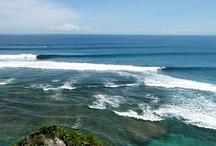 Beaches surfed