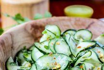 food.  salads