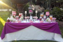 Mesa dulce para boda. / Mesa dulce para boda con un estilo elegante y juvenil, que sorprenderá a tus invitados.