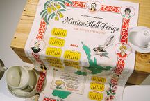 Mission Hall gifts / Here's a collection of gift we've created for clients and friends of Mission Hall