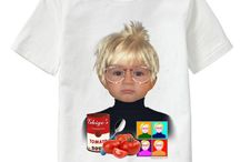 Self Portrait By... / Personalized T-shirts for kids and adults