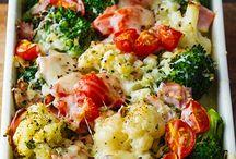 Veggie casseroles