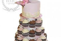 Торт на свадьбу / Свадебные торты и пирожные. Декор капкейков и тортов на свадьбу.