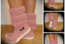 kötött cipő