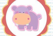 stickers zoo p imprimir