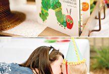 Alex b's hungry caterpillar 1st birthday party