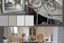 Colour pallets bedroom