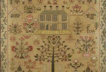Antique Cross Stitch Samplers