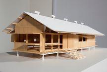 architectural models / maquettes, presentaties