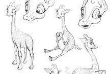 Animal Design: Giraffes