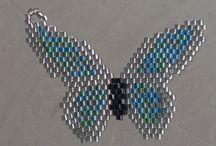 gyöngy minták,inspirációk / gyöngyből készült ékszerek