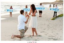 Sweet Proposals / Some of our favorite wedding proposals