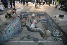 Art - 3D Street / Julian Beever
