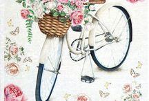 bisiklet dekupaj -  Bicycle decoupage